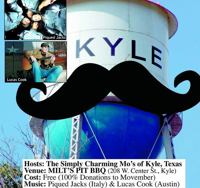 """Movember"" Benefit & Silent Auction at Milt's BBQ"