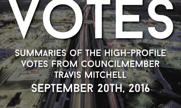 """""""Votes"""" – 20 Sep 2016"""