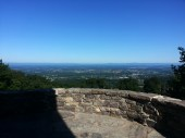 View of Boonsboro, MD from the Washington Monument