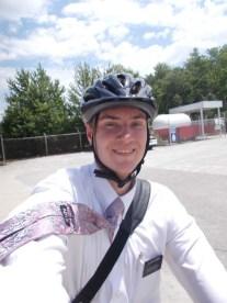 I love riding my bike!
