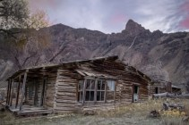 This is a historic homestead in Lemhi County, Idaho