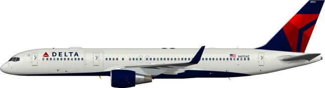 DAL N6704Z