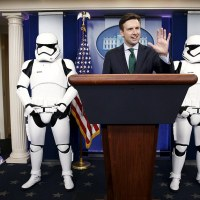 Star Wars Mania Grips the White House