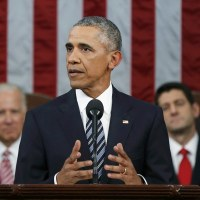 President Obama Gives Final State of the Union Address