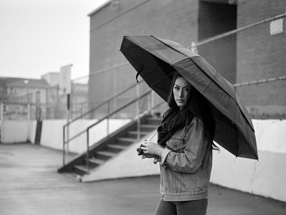 model umbrella