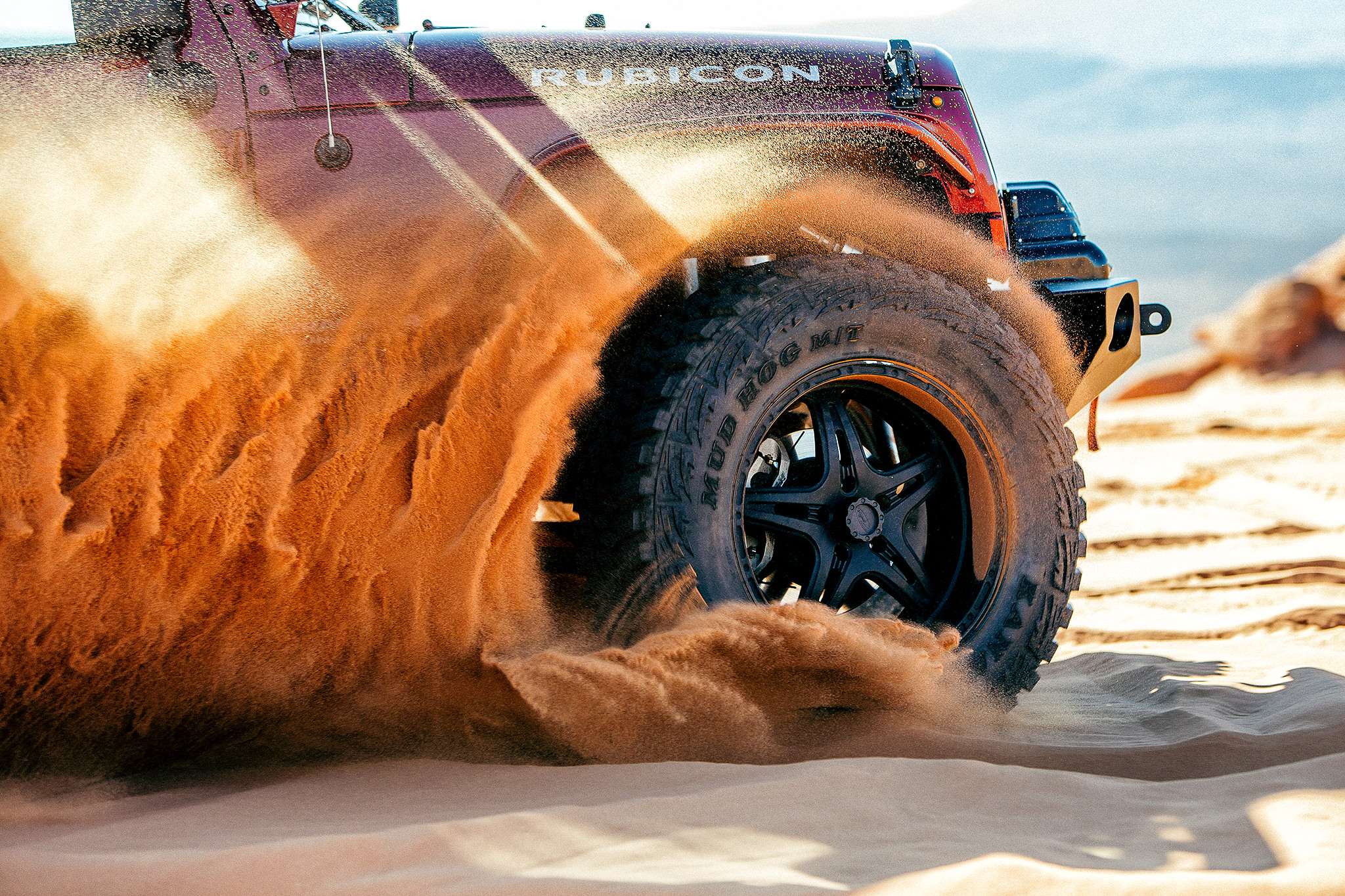 Offroad Tire red sand