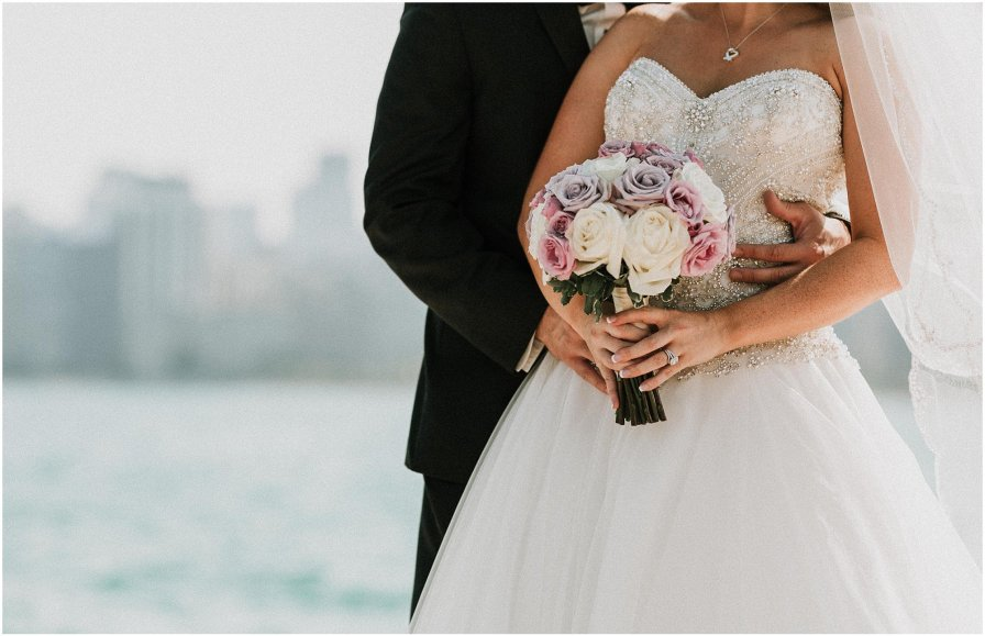 Lakefront Chicago Illinois Wedding Engagement Photographer
