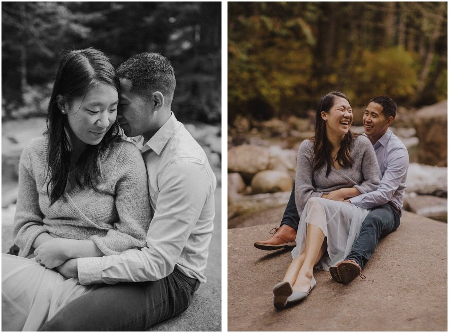Franklin Falls Snoqualmie Washington Engagement Session