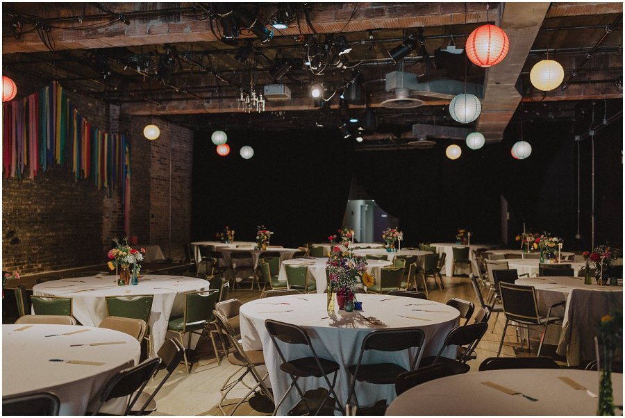 Filament Theater Wedding
