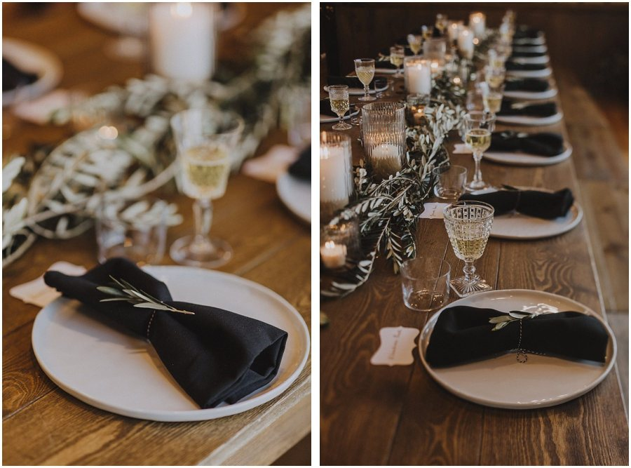 wedding reception decor for the couple Chicago wedding photographer kyle szeto