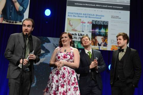 """Winning """"Best Transmedia Experience"""" at the IAWTV Awards"""