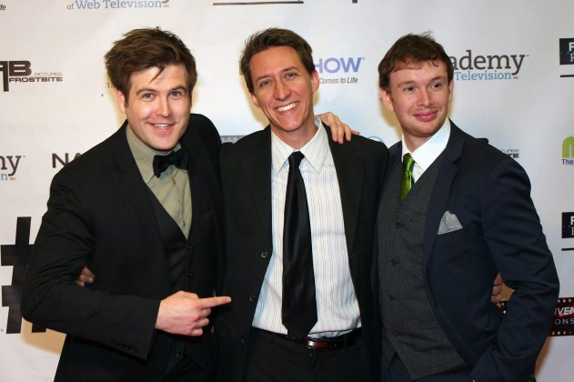 at the IAWTV Awards