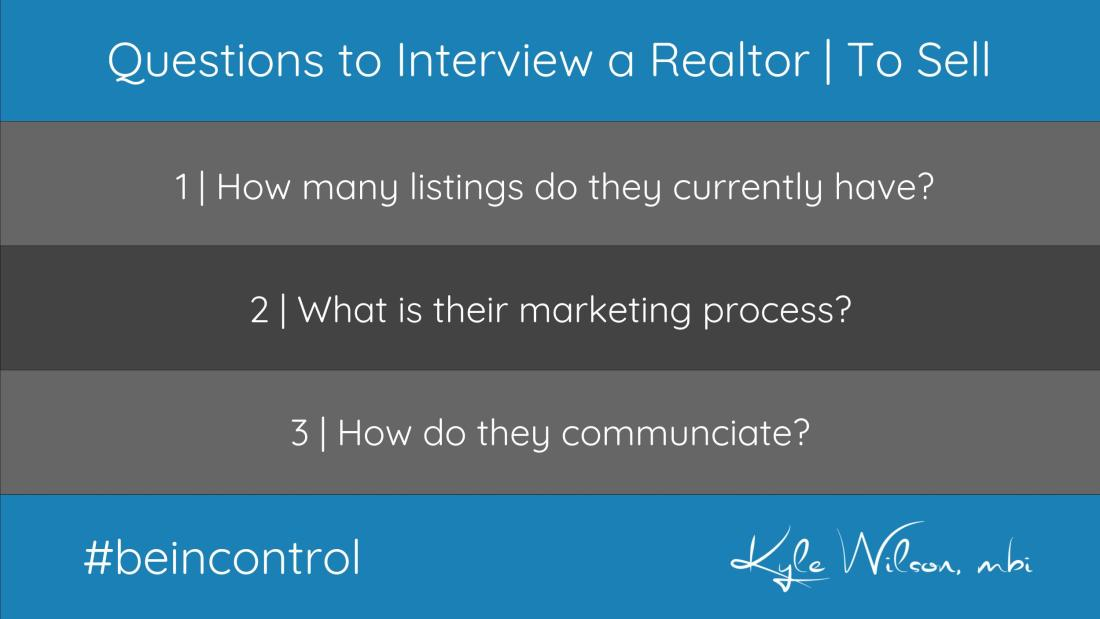 Questions to Ask a Realtor to Sell your Home