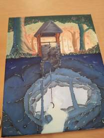 The Well Acrylic Painting
