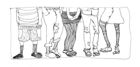 kids legs