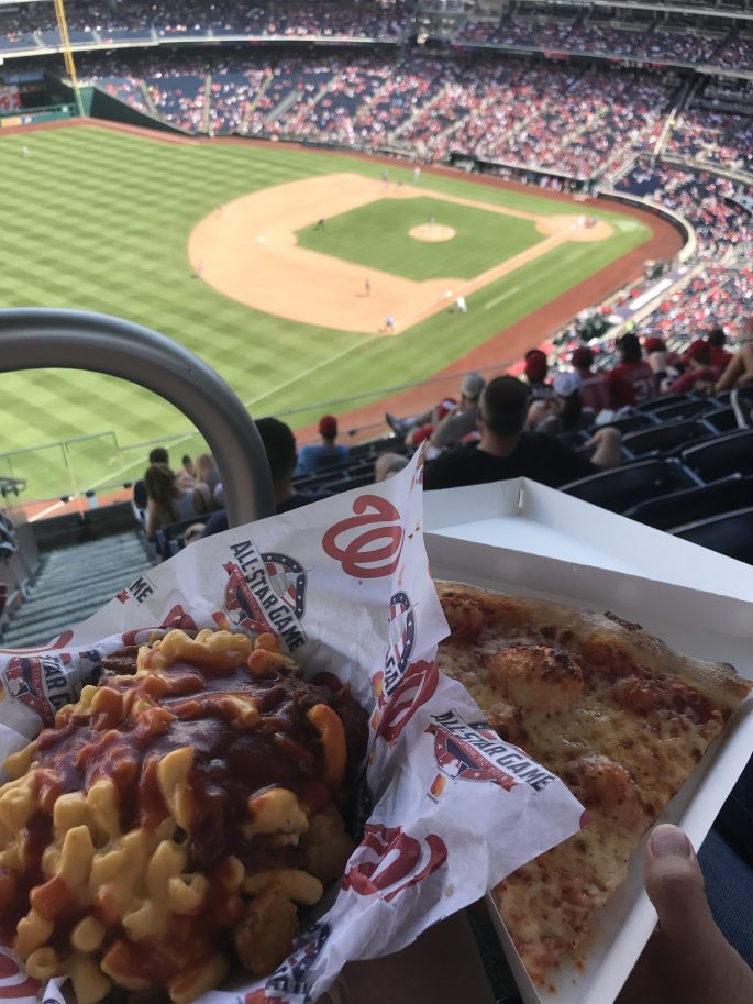 Nationals Park Food