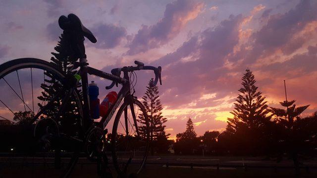 Kylie Mccorquodale Writing Productivity Cycling Sunrise