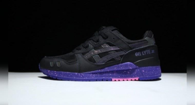Asics Gell lyte III Black soul sneakers