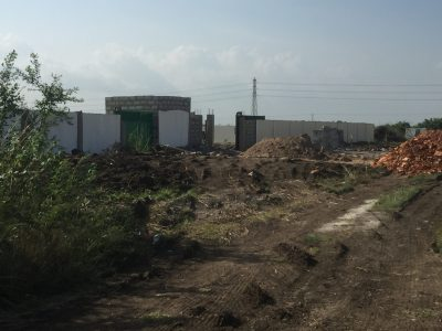 ROADSIDE PLOT AT CENTRAL UNIVERSITY FOR SALE