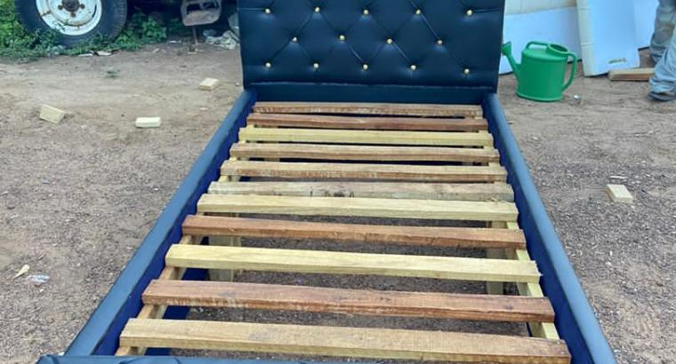 One and half bed frame