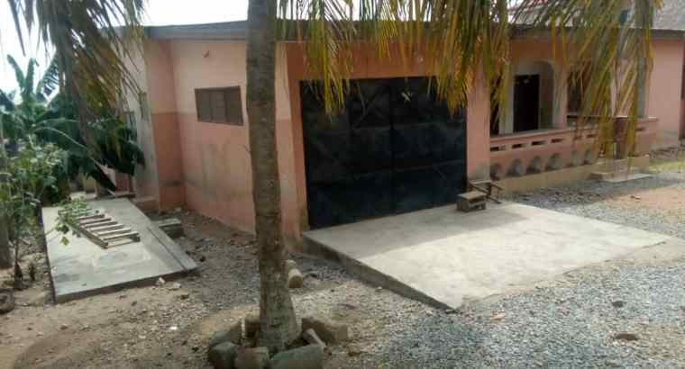 A Four (4) Bed Room House for sale