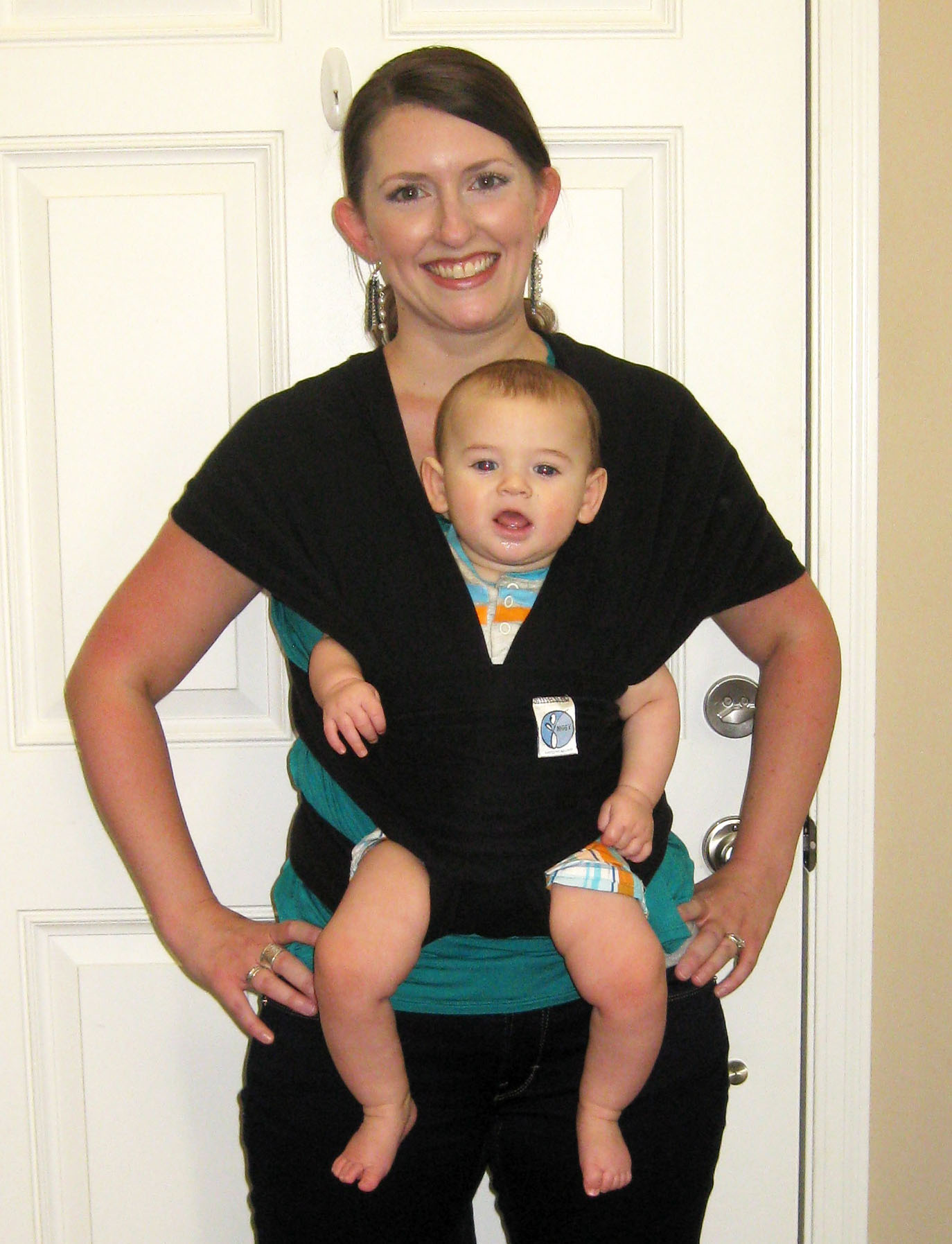 Babywearing 101 The Moby Wrap Kentucky Makeup Junkie