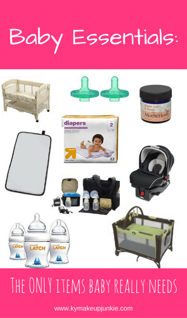 Baby Essentials: The Only Items Baby Really Needs
