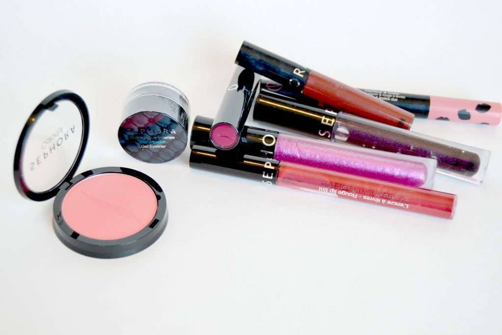 Sephora Collection has an amazing array of lip glosses, lipsticks, lip plumpers and more that are all great quality, highly pigmented and a better price tag than most other lip products in their stores. They have a full assortment of products that any makeup lover would love.