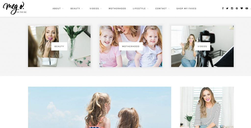 Meg O on the Go is a beauty and lifestyle blog that's full of fun! If you like makeup tips, tricks, reviews and articles on parenthood and more, then you'll love this blog!