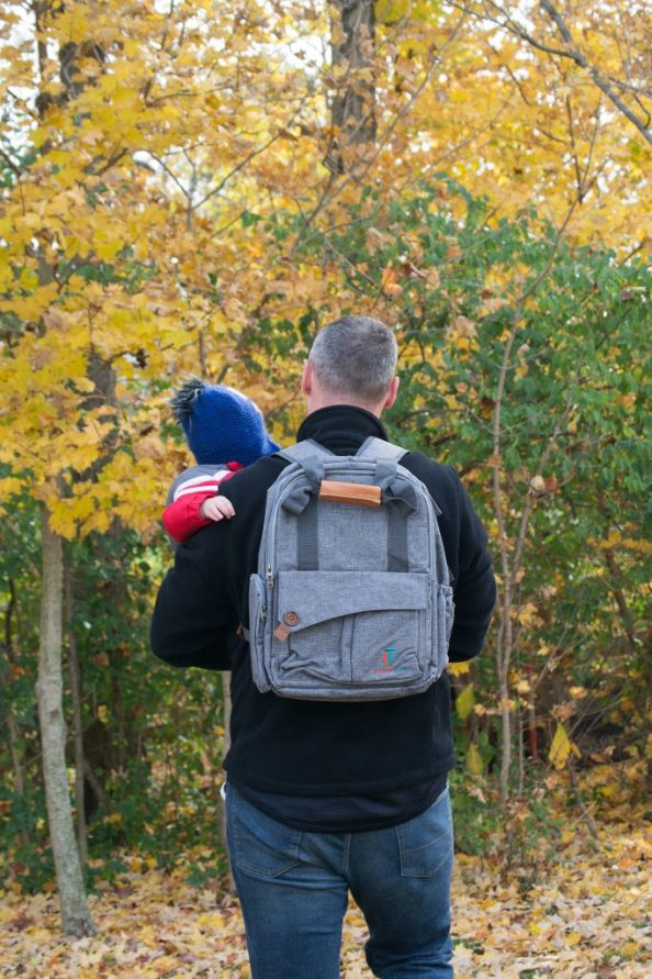 Best diaper bag for the on-the-go parent - Laguna Tide Waterproof Travel Diaper Bag Backpack