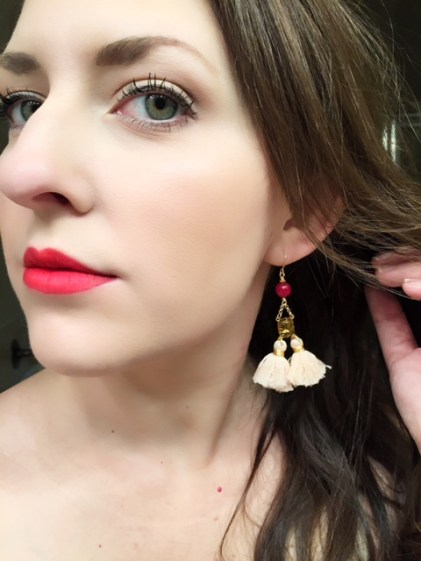 10 gift ideas for every woman on your list - impress her with these unique gift ideas this Christmas! Any fashionista would love the trendy earrings that FInola Jewelry has to offer!