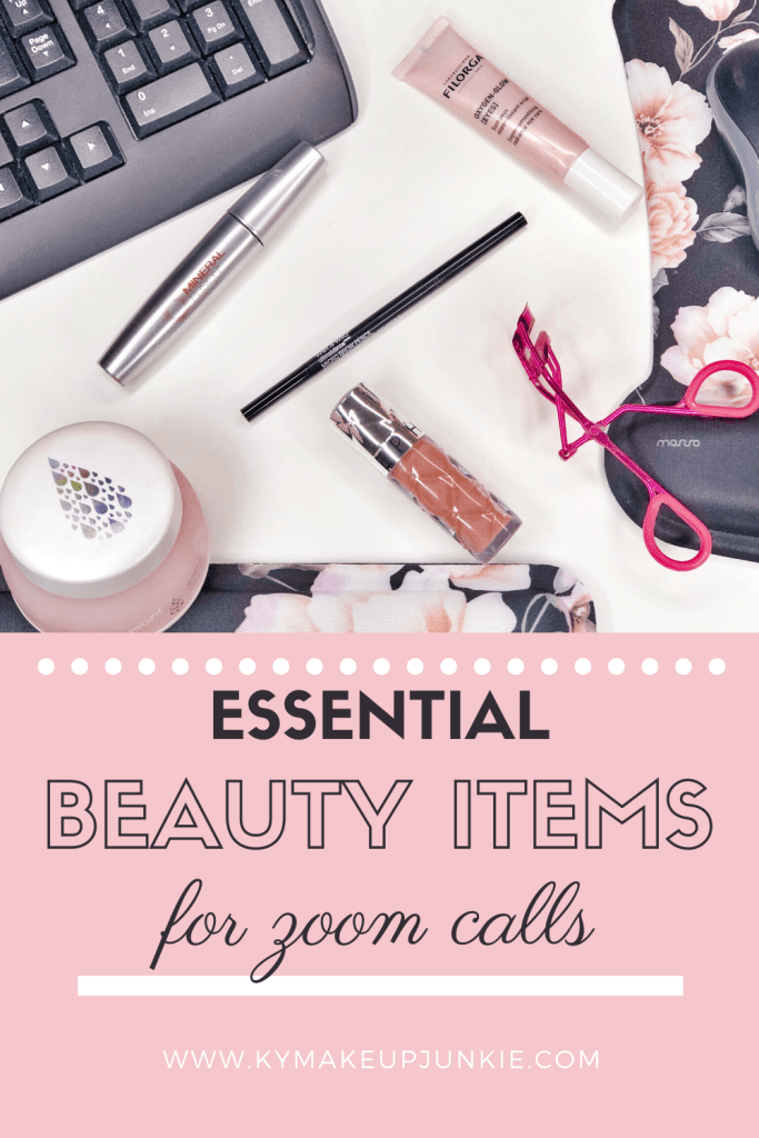 Working from home? On zoom calls all day? Get ready in 5 minutes but still look presentable with the essential beauty items to use for all of your zoom calls.