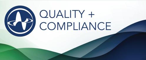 Quality + Compliance
