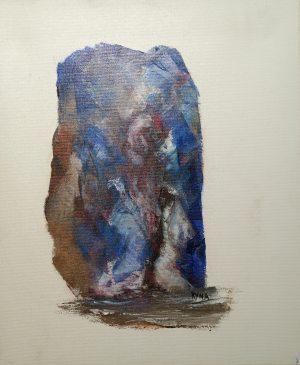Mirage, art abstrait, Kyna de Schouël artiste peintre