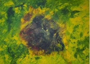 Fibre, peinture abstraite, Kyna de Schouël