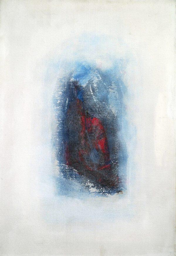 Le rêve, peinture abstraite, Kyna de Schouël artiste peintre