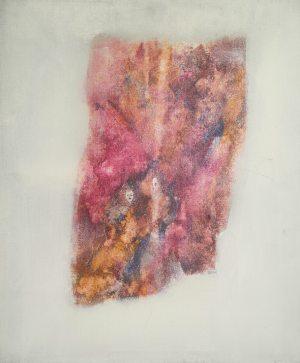 Les femmes papillon, peinture abstraite, Kyna de Schouël artiste peintre