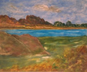 Pays de Loire, art figuratif, Kyne de Schouël artiste peintre