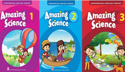 Amazing Science giúp bé yêu học tiếng Anh thông qua những câu chuyện kì thú trong tự nhiên và đời sống