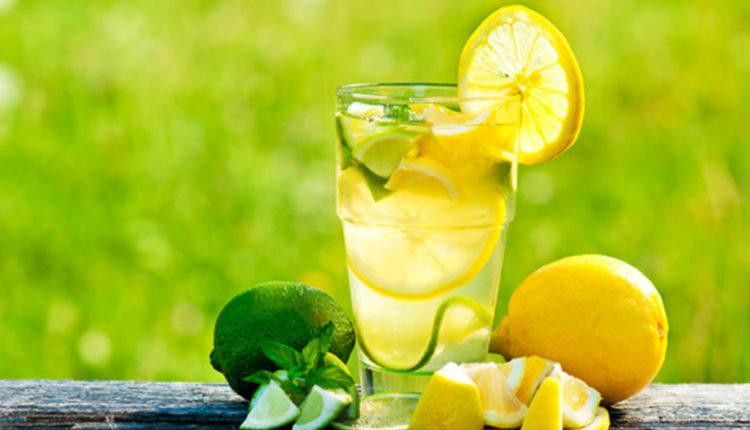 Nước chanh không rất tốt cho việc giảm mỡ bụng