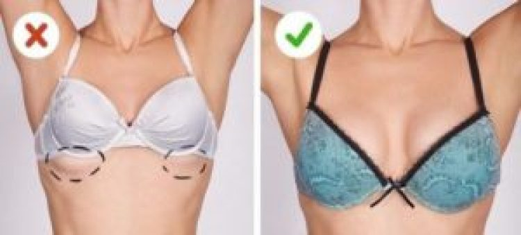 Sử dụng áo ngực đúng kích thước