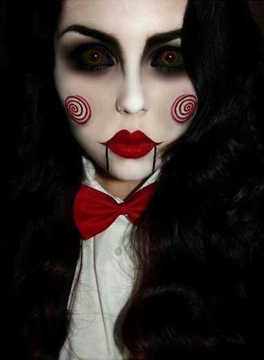 Scary s&% halloween look 2