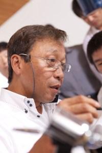 京技術修染会会長 石塚保博