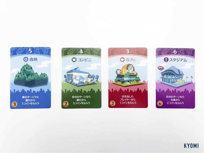 街コロ-写真-カードの種類