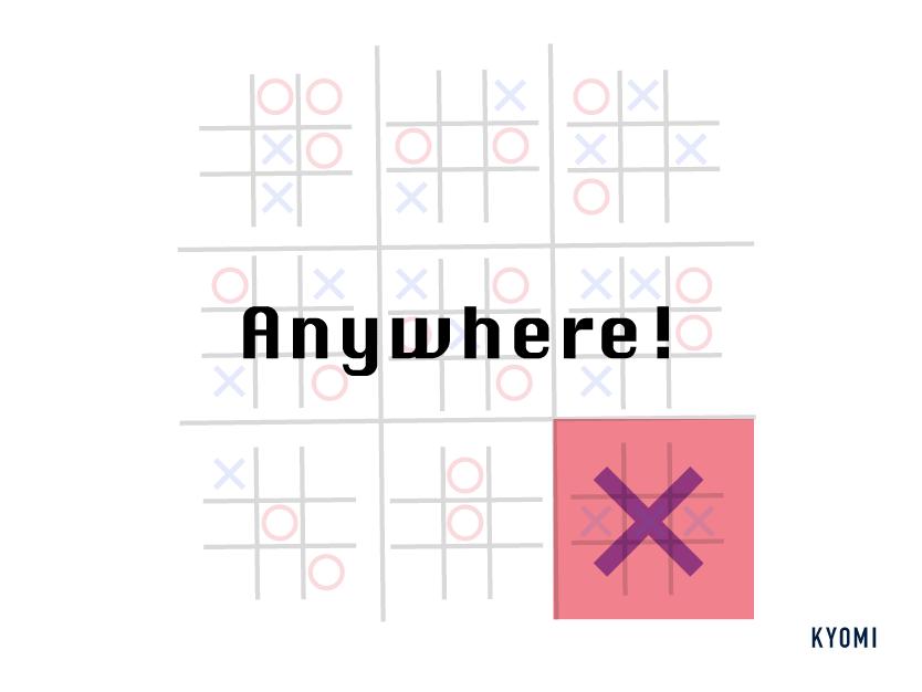 マルバツゲーム-図-どこでも書ける