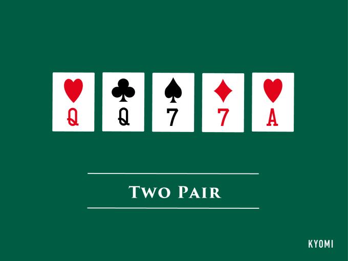 ポーカー-図-ツーペア