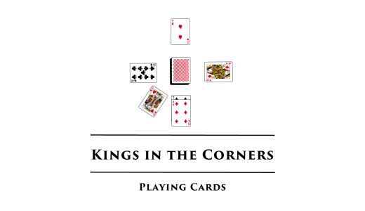 キングス・イン・ザ・コーナーズ/Kings in the Corners ソリティアを複数人で遊ぶ感覚のゲーム