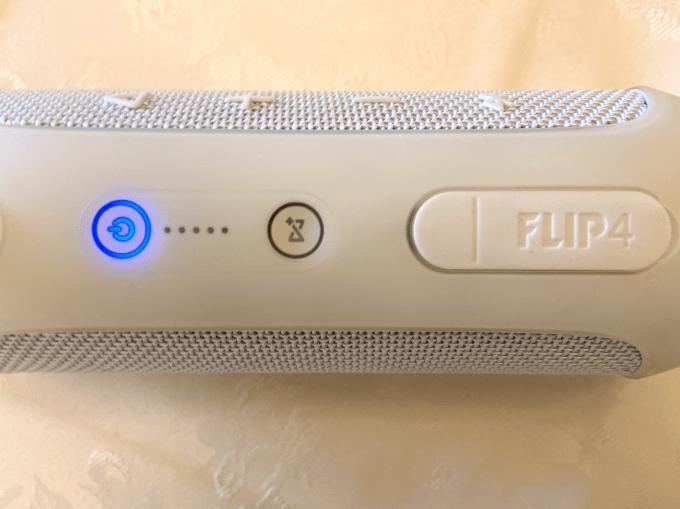 JBL Flip 4 起動音を消す方法