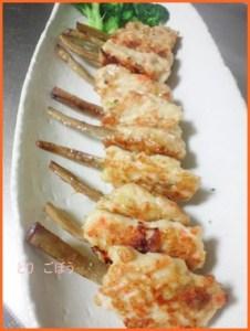 tori613-1-201x300 鶏ごぼうつくねレシピ シャキシャキ食感が大人気!