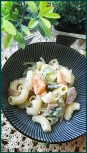 maka830-1 マカロニをお弁当に入れるレシピ 冷凍作り置き